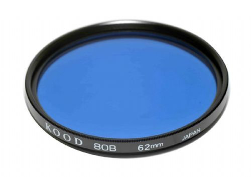 High Quality Optical Glass 80B Filter Made in Japan 62mm Kood